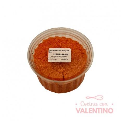 Coco Rallado Color Naranja Circe - 200 Grs.