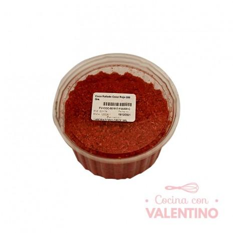 Coco Rallado Color Rojo 200 Grs.