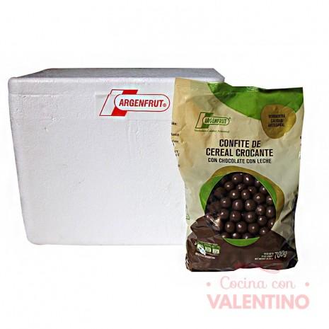 Cereal Confite con Chocolate Leche - 700Gr -Pack9Un.