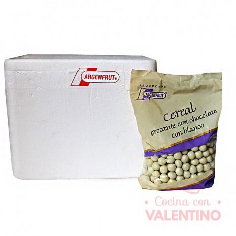 Cereal Confite con Chocolate Blanco - 700Gr -Pack9Un.