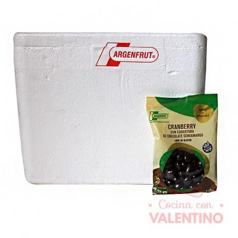 Cranberry con Choc. S/A Sin Tacc (Vegano) - 120Gr -Pack12Un.