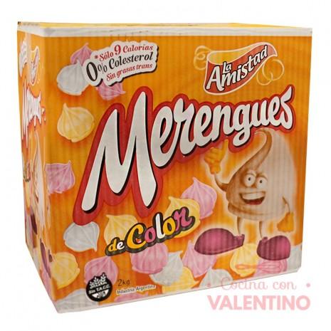 Merengue Med. Multicolor 2Kg - La Amistad