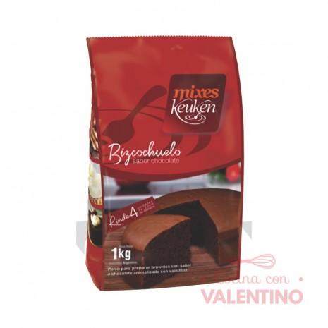 Mix Bizcochuelo Chocolate Keuken - 1Kg