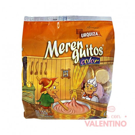 Merengue Mediano Color - 150Grs