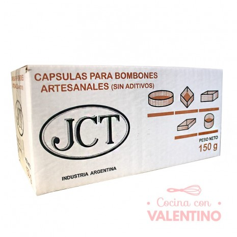 Capsulas p/ Bombon Caja 415u aprox - 150Grs