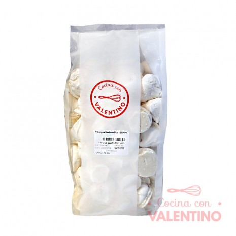 Merengue Mediano Bco - 250Grs