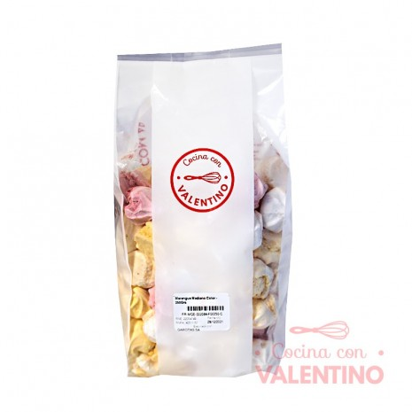 Merengue Mediano Color - 250Grs