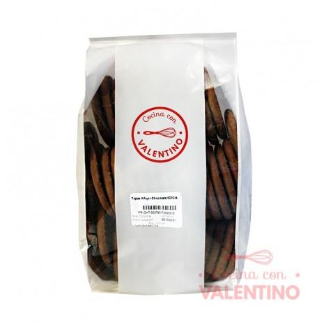 Tapas Alfajor Chocolate 500Grs.