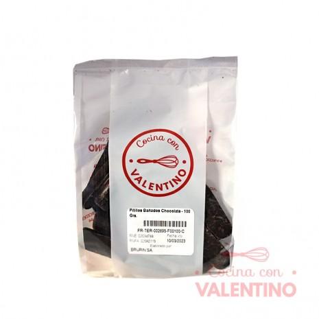 Pitillos Bañados Chocolate - 100 Grs.