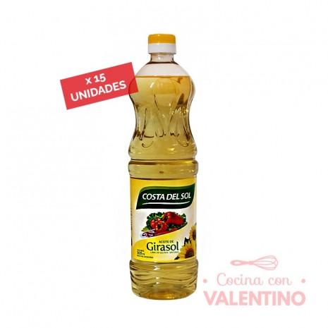 Aceite Costa Girasol - 0.9Lt - Pack 15 Un.