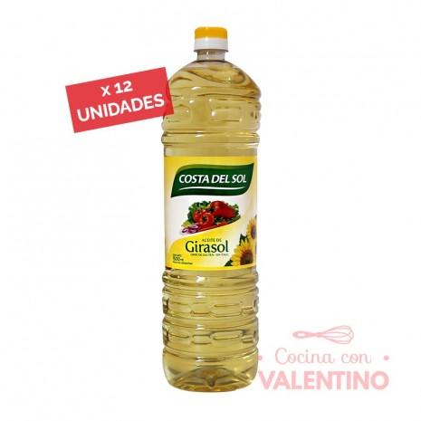 Aceite Costa Girasol - 1.5Lt - Pack 12 Un.