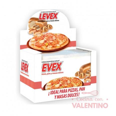 Levadura Seca Levex Display 2 Sobres Caja 50 - 10Grs c/u