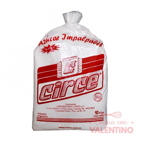 Azucar Impalpable Circe - 10 Kg