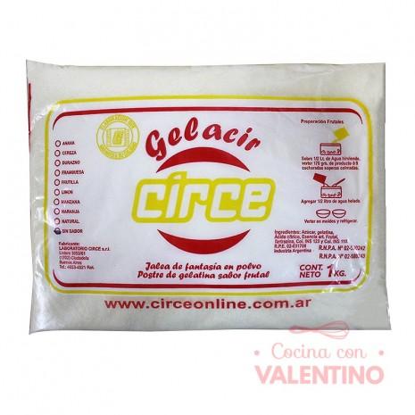 Gelatina s/Sabor en Polvo Circe - 1Kg