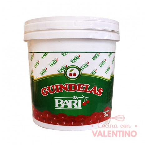 Guindelas Rojas Balde Bari - 5Kg
