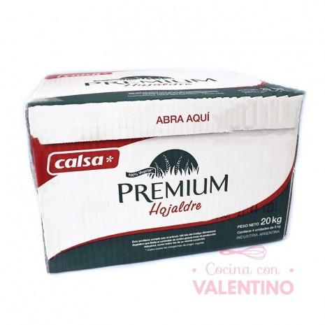 Margarina Hojaldre Premium Calsa - 20Kg (4u)