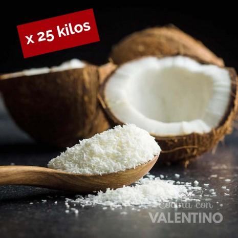 Coco Rallado Medium Fat (NO horneable) - 25 Kg
