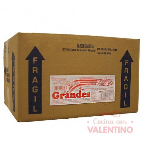 Tapas Alfajor Maicena Fachitas Granel 5Kg - 450u.