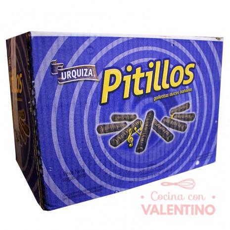 Pitillos Bañados Chocolate Granel - Caja 3Kg