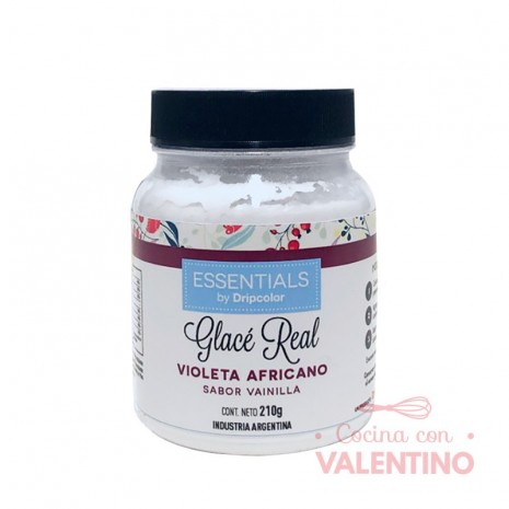 Glace Real Essentials Violeta Africano - 210Grs