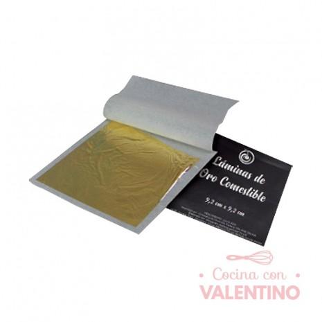Lamina Oro Comestible 1 Hoja 9.2x9.2