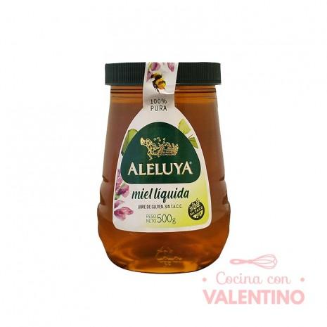 Miel Aleluya Liquida Frasco SIN TACC 500 gr.