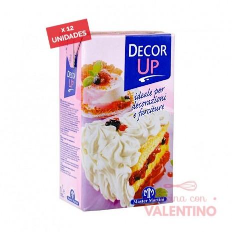 Crema Decor Up - 1Lt. - Pack 12 Un.