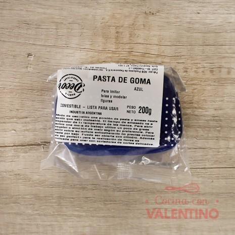 Pasta de Goma Colores Surtidos - 200Grs