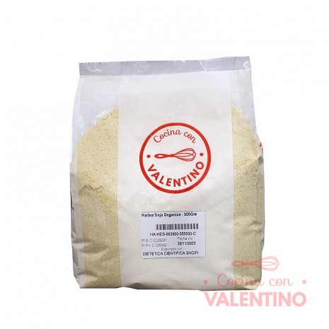 Harina Soja Organica - 500Grs PROMO 2X1