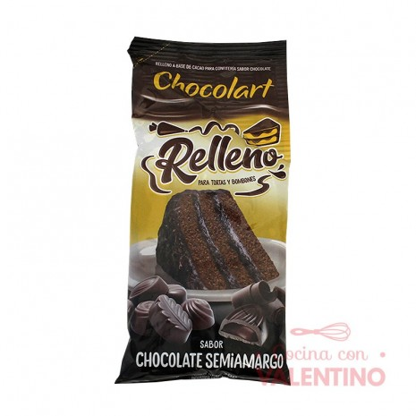 Relleno Sabor Chocolate S/A Chocolart - Pouch 300Grs