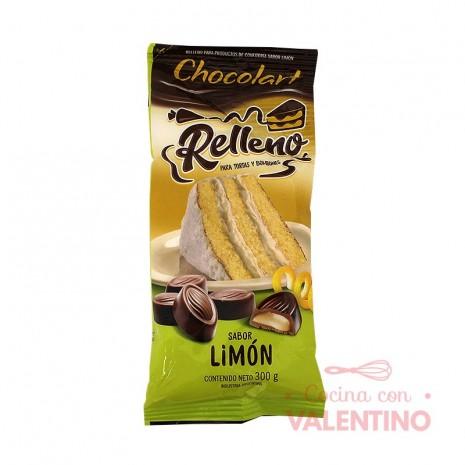 Relleno Sabor LimonChocolart-Pouch 300Grs