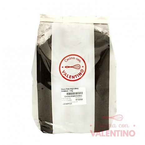 Cacao Preto Negro Barry Callebout - 1 Kg.