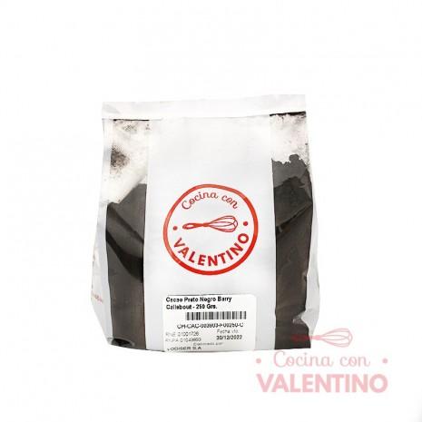 Cacao Preto Negro Barry Callebout - 250 Grs.