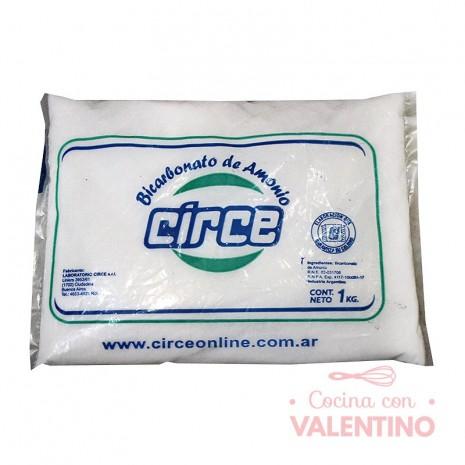 Bicarbonato de Amonio Circe - 1Kg