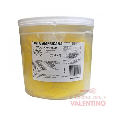 Pasta Americana Balde Amarilla - 3.5Kg