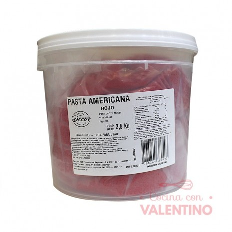 Pasta Americana Balde Roja - 3.5Kg