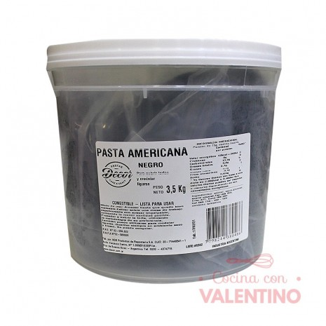 Pasta Americana Balde Negra - 3.5Kg