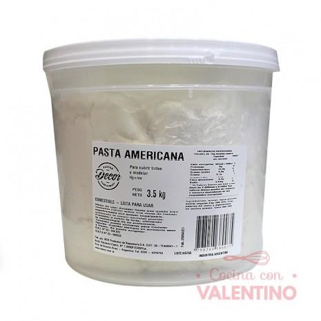 Pasta Americana Balde Blanca - 3.5Kg
