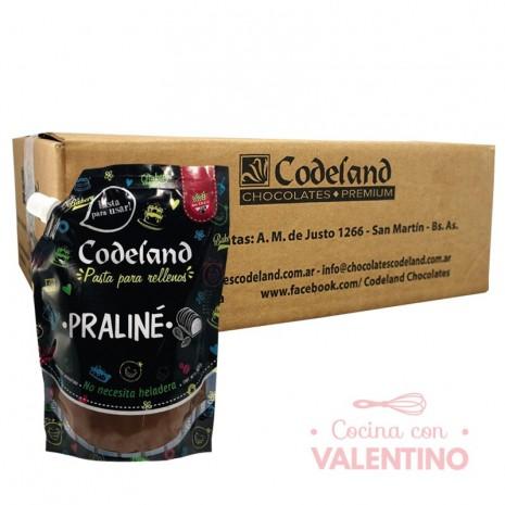 Pasta RellenoPralineCodeland - 500Grs - Pack 8 Un.