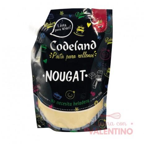 Pasta Relleno Nougat Codeland - 500Grs