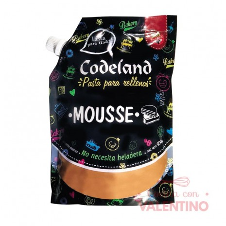 Pasta Relleno Mousse Codeland - 500Grs