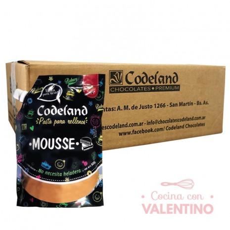 Pasta Relleno Mousse Codeland 500Grs - Pack 8 Un.