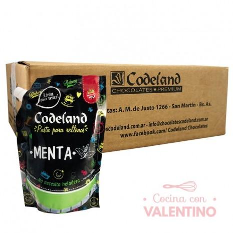 Pasta RellenoMentaCodeland - 500Grs - Pack 8 Un.