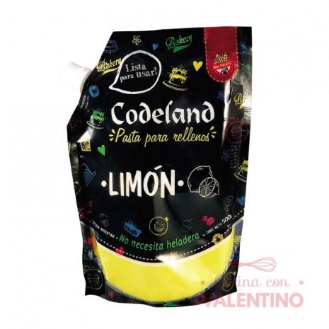 Pasta Relleno Limon Codeland - 500Grs