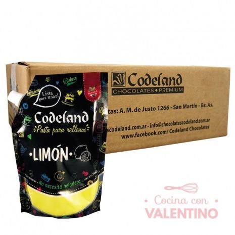 Pasta RellenoLimonCodeland - 500Grs - Pack 8 Un.