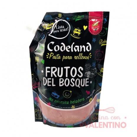 Pasta Relleno Frutos Del Bosque Codeland - 500Grs