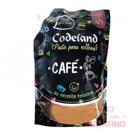Pasta Relleno Moka Codeland - 500Grs