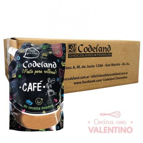 Pasta RellenoMokaCodeland - 500Grs - Pack 8 Un.