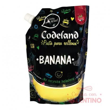 Pasta Relleno Banana Codeland - 500Grs
