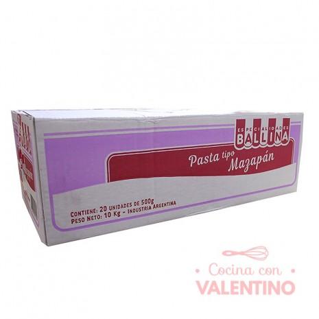 Pasta Tipo Mazapan Ballina 500Grs - Pack 20 Un.